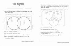 venn diagrams probability worksheets with answers 5956 venn diagrams literacy strategies for the math classroom