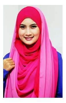 Model Jilbab Segi Empat Terbaru Sekolah Pesta Dan 2014