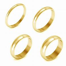 holiday sale 10k yellow gold 2 3 4 5mm comfort fit men