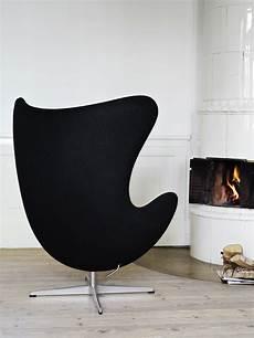 Fauteuil Egg Chair Arne Jacobsen Gris Made In Design