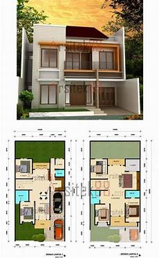 60 Arsitektur Desain Rumah Minimalis 6x12 2 Lantai Terbaru
