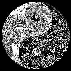 Malvorlagen Yin Yang Lung Fu Yin Yang Design Desenhos Coloridos Yin