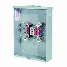 milbank 200 4 terminal ringless overhead underground meter socket r7040 xl tg the home depot
