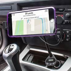 roadwarrior iphone 6 6 plus car holder charger fm