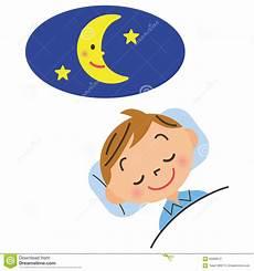 enfant qui va au lit t 244 t illustration de vecteur