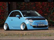 motormavens wow this slammed stretched fiat 500 looks