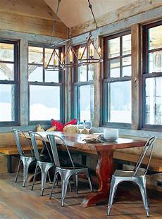 7 deliciously rustic dining rooms