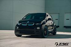 bmw i3 with hre classic 309 wheels in satin black