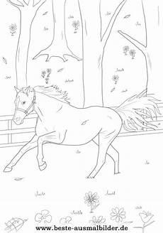 ausmalbild einem pferd zum kostenlosen ausdrucken
