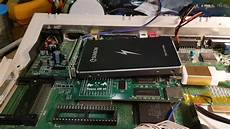 commodore amiga 600 gets ssd with my ide to sata adapter