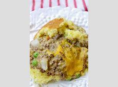 corn bread ground beef casserole_image