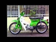 Supra Modif C70 by Modifikasi Sepeda Motor Classic Honda C70 Modif Engine