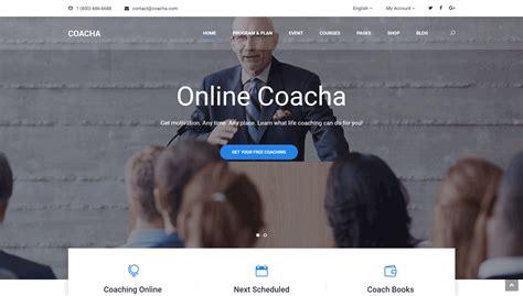 coacha v1 1 7 health and coaching wordpress theme