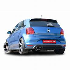 polo 6c gti performance sport exhaust for polo gti 2015 1 8 192hp vw