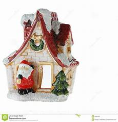 Malvorlagen Weihnachtsmann Haus Haus Weihnachtsmann Stockbild Bild Frontseite