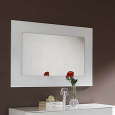 miroir mural miroir mural design blanc laqu 233 tatimo miroir blanc laqu 233