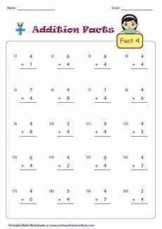 addition math fact worksheets addition facts worksheets