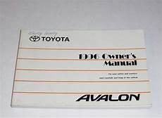 car service manuals pdf 1996 toyota avalon free book repair manuals 1996 toyota avalon owners manual pdf