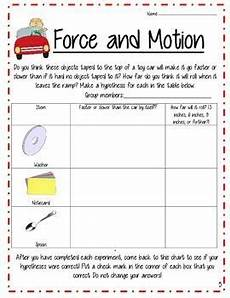 physical science worksheets for 2nd grade 13009 and motion science lesson and activities with stem centers motion science