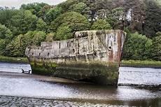 schiffe aus beton beton schiffe ballina co mayo irland stockfoto