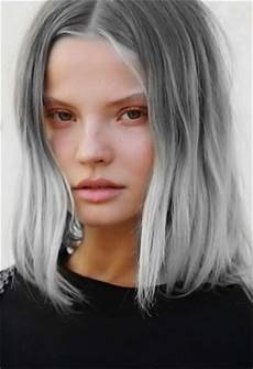 gray hair color trend 2014 beauty trend gray hair thefashionspot