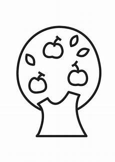 Malvorlage Apfelbaum Jahreszeiten Malvorlage Apfelbaum Ausmalbild 18544