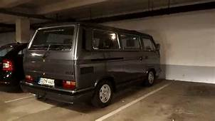 VW T3 Caravelle Carat  Sound Check Tiefgarage YouTube