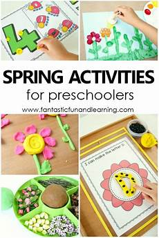 spring theme preschool activities fantastic fun learning