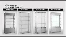 Glasvitrine Selber Bauen - standvitrine vitrine
