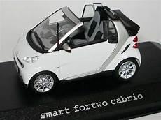 smart fortwo ii cabrio crystalwhite werbemodell minichs