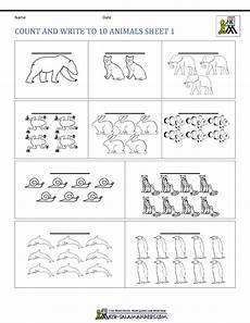 counting numbers worksheets 1 10 7986 numbers to 10