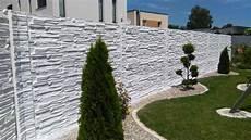 betonpfosten für gartenzaun betonzaun classic l 200 cm h 200cm b 4 5 cm