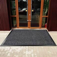 Thin Outdoor Mats by Showin Carpet Entrance Front Door Mat Absorbent Non Slip