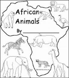 Malvorlagen Afrikanische Tiere Animal Coloring Info Pages Aa Af Allaboutnature