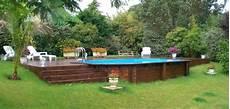 comment installer une piscine semi enterrée peut on mettre une piscine semi enterr 233 e sur un terrain en