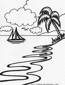 Malvorlagen Urlaub Island Island Printable Coloring Pages Coloring Pages Nature