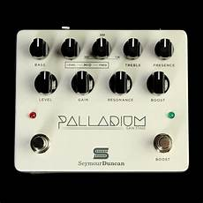 Seymour Duncan Palladium Gain Stage Effects Pedal White