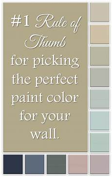 the 1 rule of thumb for picking the right paint color for your wall with images
