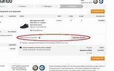 Zalando Rabatt Code - zalando gutscheincode einl 246 sen so wird s gemacht