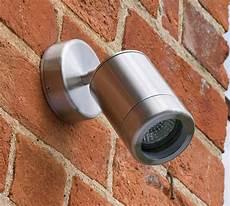 single adjustable wall light stainless steel ip65 heavy duty