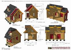 dog house plans insulated home garden plans dh301 insulated dog house plans dog