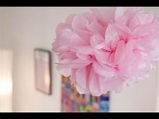 decoration pour fleur diy d 233 co pompon fleur en papier de soie