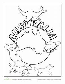 australia animals coloring pages 16900 australia coloring page australia for australia school australia crafts
