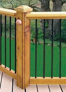 veranda kit veranda horizontal deck rail kit in black the home depot