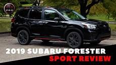subaru sport 2019 2019 subaru forester sport review