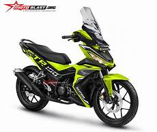 Supra Gtr 150 Modif Touring by Modifikasi Honda Supra Gtr150 Sang Bebek Adventure Style