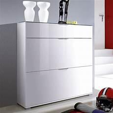 meuble a chaussures blanc laqu 233 califa rangement