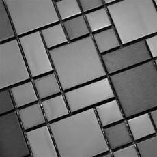Kitchen Backsplash Tile Mesh by Mosaic Tile Mirror Sheets Brushed Stainless Steel Tile