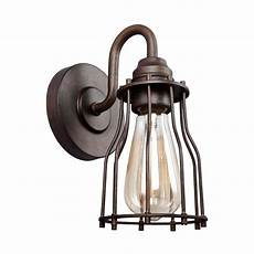 Kitchen Light Fixtures Calgary by Feiss Calgary 1 Light Parisian Bronze Sconce Vs24001prz