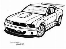 Malvorlagen Cars Vector Ausmalbilder Ford Mustang Ausmalbilder Cars